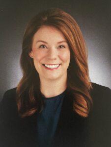 Wonderful nurse practitioner, Amanda Zuber